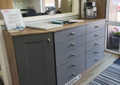 Fitted bedroom furniture - showroom gallery